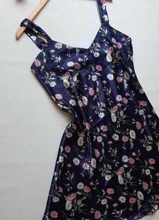 Платье в бельевом стиле домашнее ночнушка