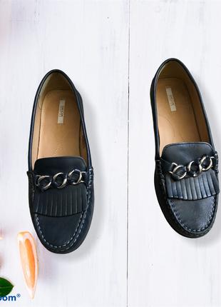 Натуральная кожа geox туфли/мокасины/лоферы