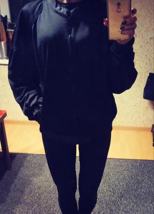 Мото куртка бомбер размер м