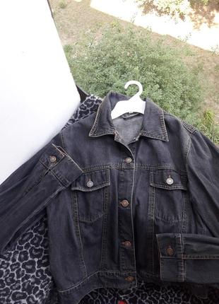 Джинсовый пиджак куртка джинсовка