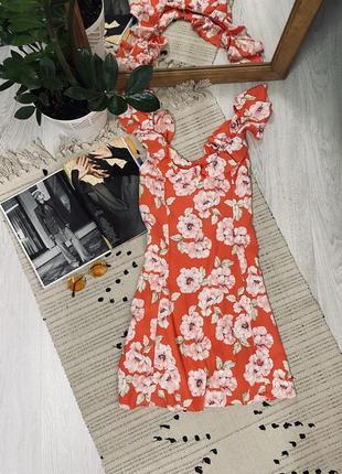 Плаття в квітковий принт від new look🌿