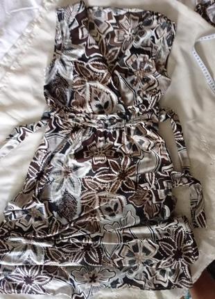 Красивое платье в пол размер 12