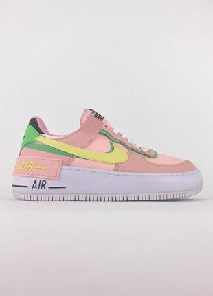 Кроссовки nike air force 1 shadow arctic punch