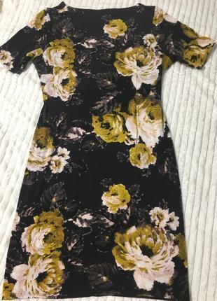 Красивое платье в цветы 🌺