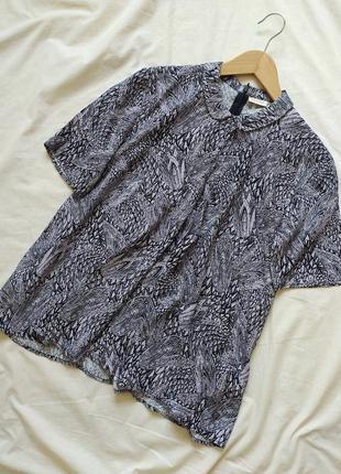 Оригинальная блузка из вискозы, от датской компании - nümph