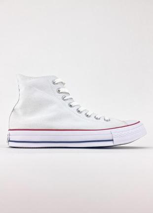 Кеды converse high white