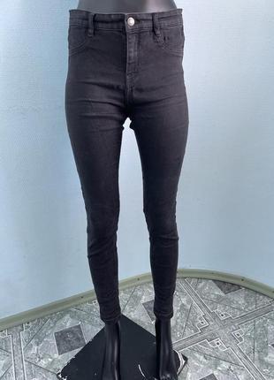 Черные джинсы скинни не zara