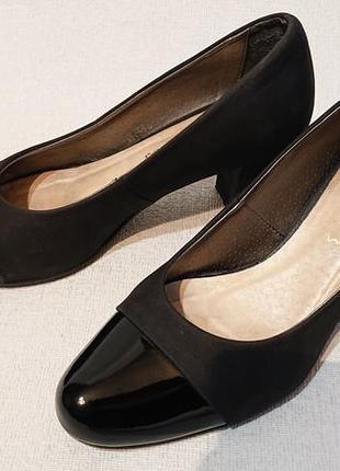 Женские кожаные туфли coral, 39р кожа нубук классические туфли классика