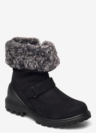 Ecco tred мембрана hydromax стильные зимние ботинки 33,34р