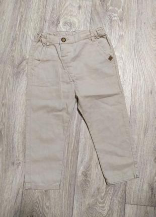Zara штаны брюки льняные next gap