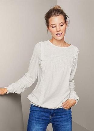 Шикарна яскісна блуза в офісному стилі від tchibo (німеччина), р.: 54-56 (48/50 евро)