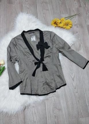 Женский лёгкий пиджак жакет блуза накидка
