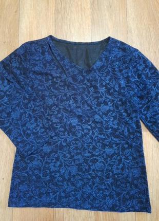 Кофточка, блуза с люрексом