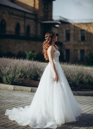 Дизайнерское свадебное платье от rara avis