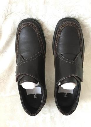 Кожаные туфли нат.кожа