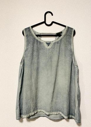 Блуза комбинированная ткань шелк / большая распродажа!