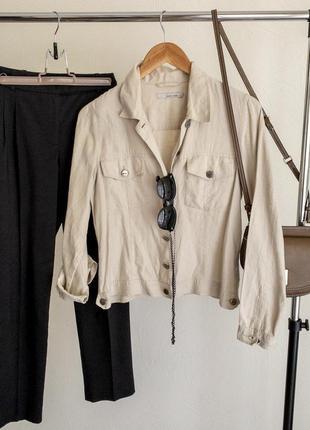 Льняная куртка 100% лён