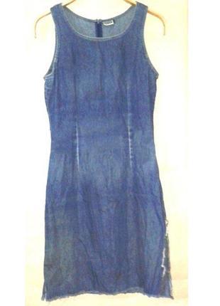 Платье короткое джинсовое бренд yessica