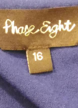 1723 синее платье phase eight xl4