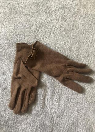 Перчатки из шерсти h&m