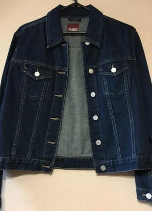 Пиджак джинс