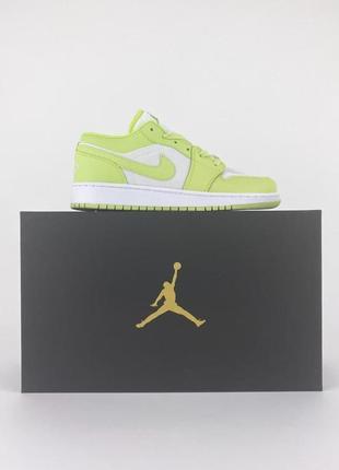 Nike air jordan 1 low1 фото