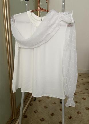 Итальянская блузка с изумительными рукавами