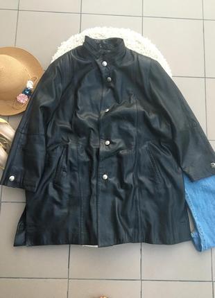 Куртка кожанка косуха кожаная пальто кардинан