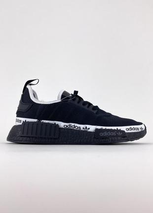 Кроссовки adidas nmd runner black white