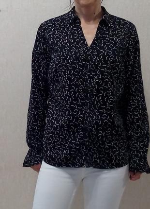 Летняя блуза,вискоза и хлопок