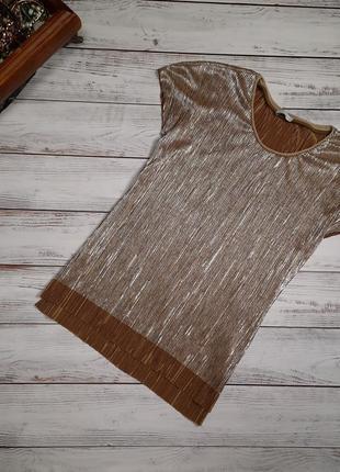 Блуза плиссе