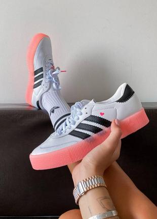 Кросівки adidas samba rose кроссовки