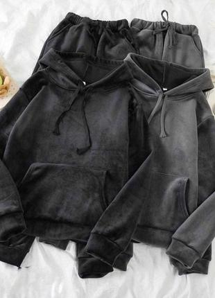 Костюм велюровый штаны кофта 💐