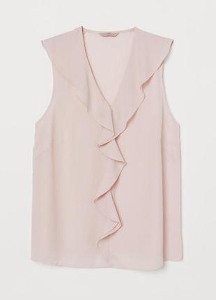 Модные вещи для пышных дам блуза пудрового цвета