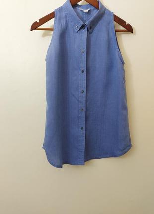 Блуза jil sander /льон