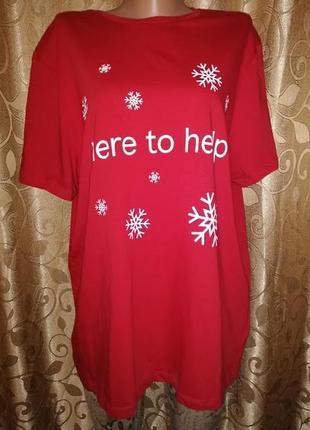 💥💥💥стильная женская красная футболка f&f💥💥💥