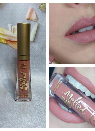 Матовая помада для губ too faced melted matte long wear lipstick в оттенке sell out.