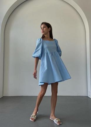 Нереальное легкое платье, которое покорит сердца всех модниц💙