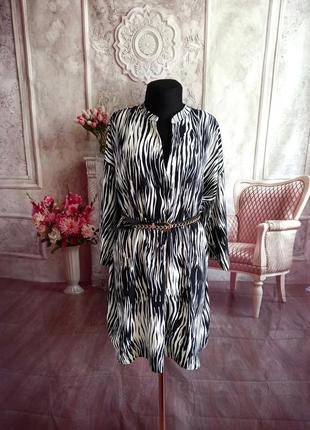 Стильная блузка туника блузон батал