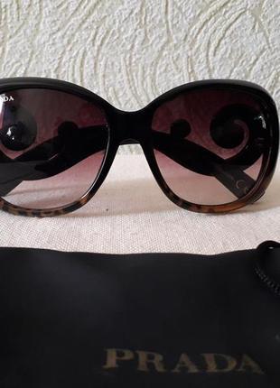 Prada винтаж винтажные очки солнцезащитные очки1 фото
