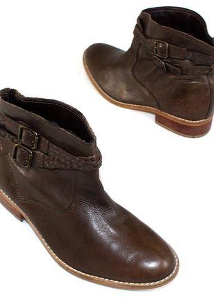 Ботинки 37 р casual италия кожа оригинал демисезон