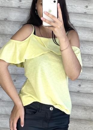 Желтая блуза dorothy perkins