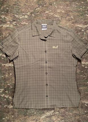 Треккинговая рубашка jack wolfskin travel, оригинал, размер м