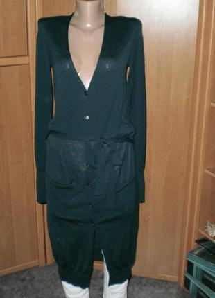 Шик!! шикарный длинный кардиган от knit р. м