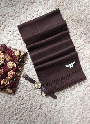 Johnstons cashmere шарф 100% кашемир шотландия