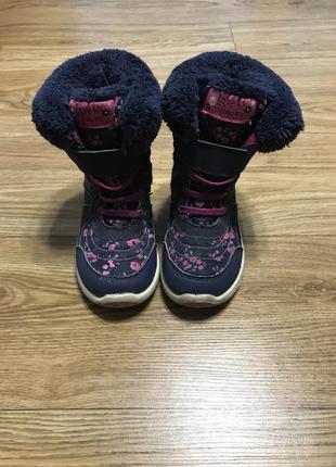 Сапоги сапожки ботинки демисезонные осень весна 26 размер