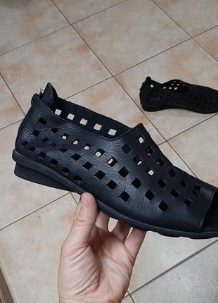 Кожаные туфли,мокасины,ботинки,босоножки arche (арчи), 38р,стелька24,5см, отличное состояние  сделан
