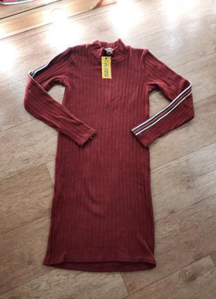 Новое платье гольф водолазка 42-44