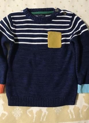 Джемпер свитер next на 2-3 года 92-98