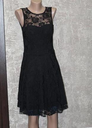 Стильное кружевное платье, сарафан 42-44